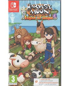 Harvest Moon Light of Hope Special Edition Nintendo Switch Game [Code in a Box] (New)