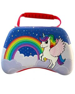 Unicorn Friends Universal Gaming Controller Carry and Storage Case (PS4, Xbox One, Switch, Stadia, PC) (New)