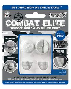 iMP Tech Combat Elite Thumb & Trigger Treadz Dual Sense Controller Grips - Urban Camo (PS5) (New)