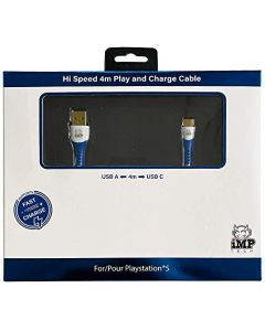iMP Tech PS5 High Speed 4 Metre Play & Charge Cable (PS5) (New)