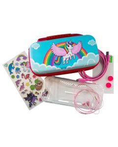 iMP Over the Rainbow Unicorn 7-in-1 Protector Kit (Nintendo Switch) (New)