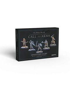 Modiphius Elder Scrolls Call to Arms - Adventurer Allies - Resin (New)