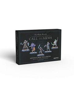 Modiphius Elder Scrolls Call to Arms - Adventurer Followers - Resin (New)