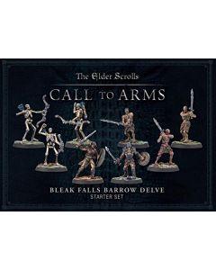 Elder Scrolls Call to Arms - Bleak Falls Barrow Delve Set (New)