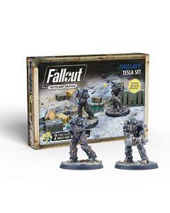 Fallout: Wasteland Warfare - Enclave (Tesla Set) (New)