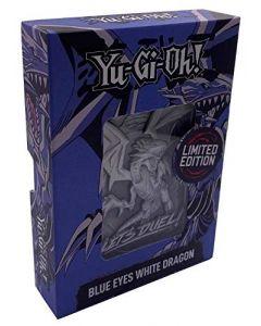 Fanattik Yu-Gi-Oh Metal Card White Dragon, Blue Eyes White Dragon, 175754 (New)