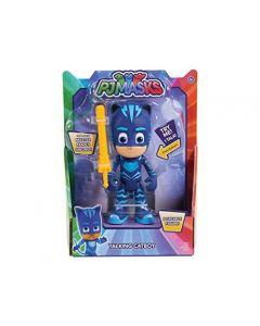 PJ Masks Deluxe 15cm Talking Figure - Cat Boy Wave 3 (New)