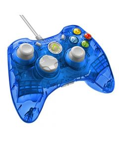 Rock Candy Wired Controller - Blueberry Boom (Xbox 360) (New)