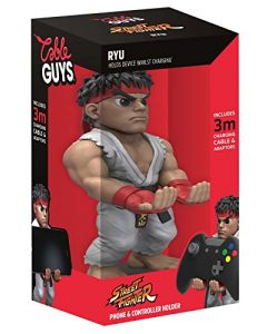 Collectable Street Fighter V Cable Guy Device Holder - Ryu (PS4 / Xbox One / Smartphones) (New)