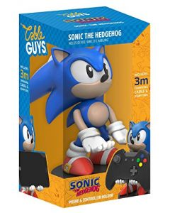 Collectable Sonic The Hedgehog Cable Guy Device Holder (PS4 / Xbox One / Smartphones) (New)