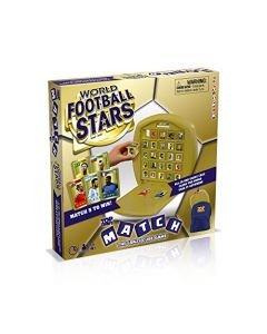 Top Trumps World Football Stars Match Board Game (New)