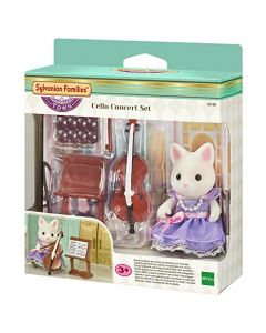 Sylvanian Families 6010 Cello Concert Playset (New)