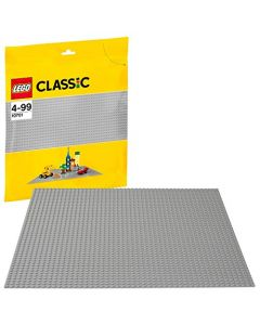 LEGO 10701 Classic Grey Baseplate Learning Toy (New)
