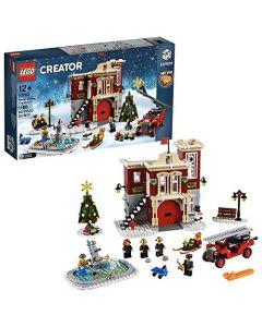 LEGO 10263 Creator Expert Winter Village Fire Station Building Kit, Multicolour (New)