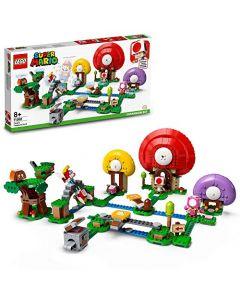 LEGO71368SuperMarioToad'sTreasureHuntExpansionSetBuildableGame (New)