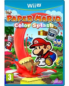 Paper Mario: Color Splash (Nintendo Wii U) (New)