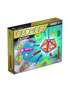 Geomag Glitter Panels Set (44-Piece) (New)