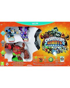 Skylanders Giants: Starter Pack (Nintendo Wii U) (New)