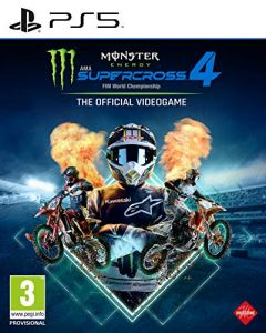 Monster Energy Supercross 4 (PS5) (New)
