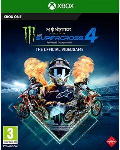 Monster Energy Supercross 4 (Xbox One) (New)