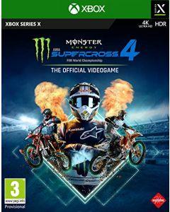 Monster Energy Supercross 4 (Xbox Series X) (New)
