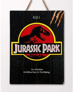 Doctor Collector DCJP18 Welcome to Jurassic Park WoodArts 3D Print (New)