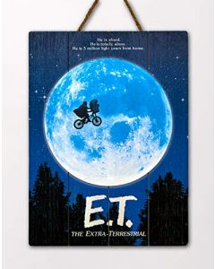 Doctor Collector DCET01 E.T. The Extra Terrestrial WoodArts 3D Print (New)