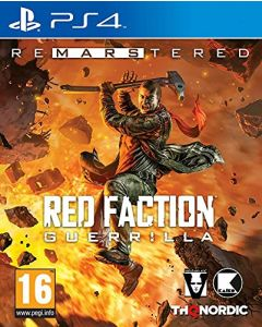 Red Faction Guerrilla Re-Mars-tered (PS4) (New) (New)