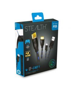 STEALTH SP-C40 V Charge & Connect Kit (PS5) (New)