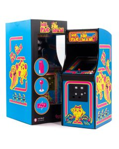 Official Ms. Pac-Man Quarter Size Arcade Cabinet (New)