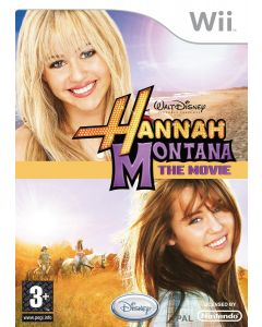 Hannah Montana The Movie (Game) (Wii) (New)