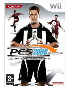 Pro Evolution Soccer 2008 (Wii) (New)
